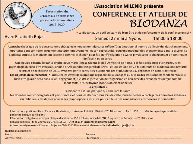 affiche-mail-CONFÉRENCE ET ATELIER DE BIODANZA-
